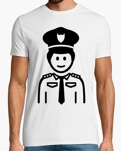 Camiseta uniforme oficial de policía