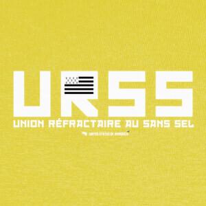 T-shirt unión refractaria con sal libre (urss)