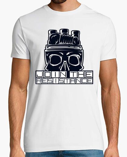 T-shirt unirsi alla resistenza