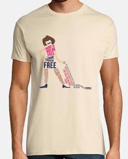 Unisex shirt - i want to break free
