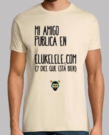 unisex shirt - my friend ukelelero