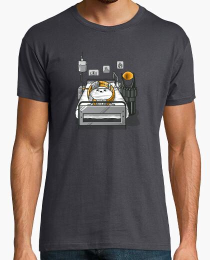 T-shirt unità bruciata