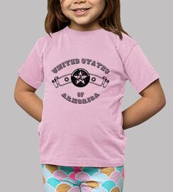 universidad - camiseta del niño