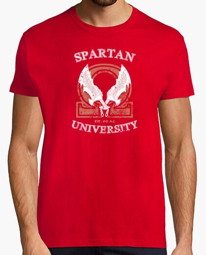 Camiseta universidad espartana para hombre / unisex