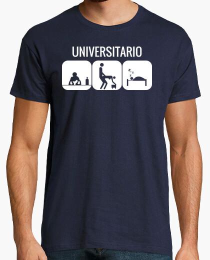 T-shirt Universitario