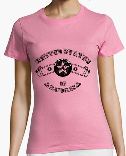 Tee-shirt University - T-shirt femme