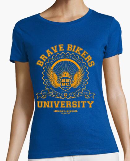 University brave bikers t-shirt