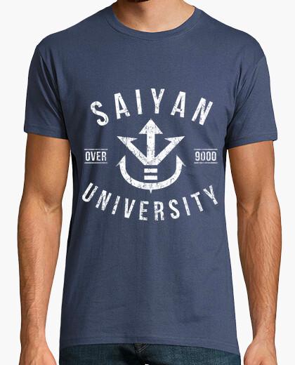 Camiseta University over 9000