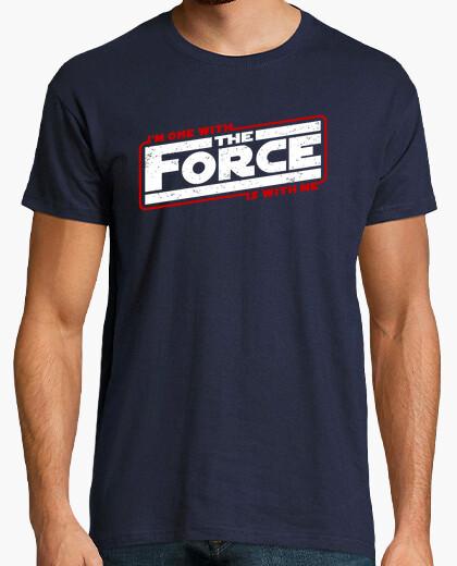 Camiseta uno con la fuerza im