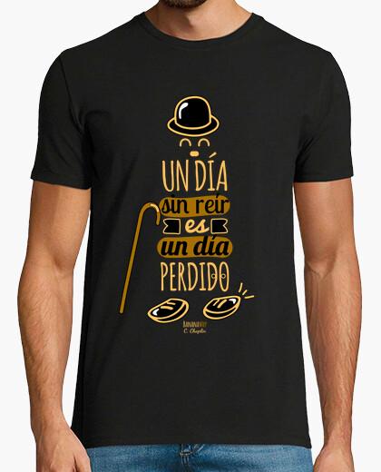 T-shirt uno giorno senza ridere