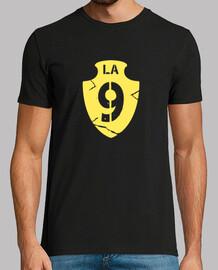 unterstützung hemd schild von neun