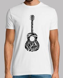 uomo - albero di chitarra