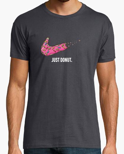 T-shirt uomo - solo ciambella
