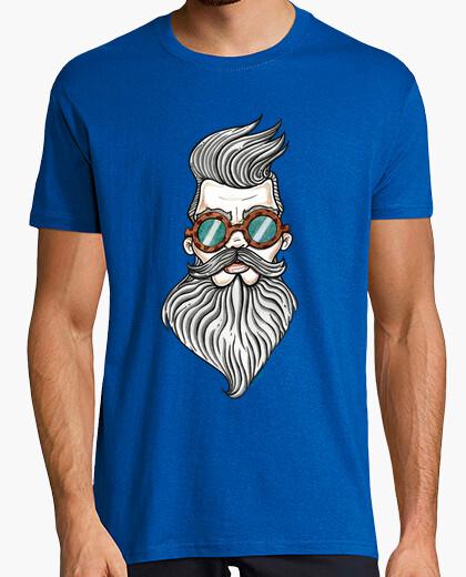 T-shirt uomo con la barba.