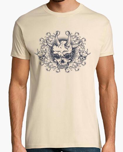 T-shirt Uomo, manica corta, crema, qualità premium