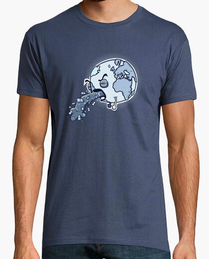 T-shirt Uomo, manica corta, denim, qualità premium