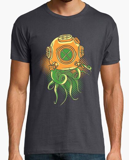 T-shirt Uomo, manica corta, grigia topo, qualità premium
