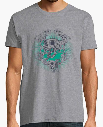 T-shirt Uomo, manica corta, Grigio Melange, qualità premium