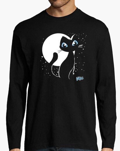 T-shirt uomo meow manica lunga 15