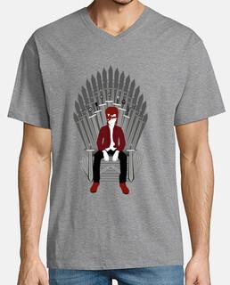 uomo trono bowie