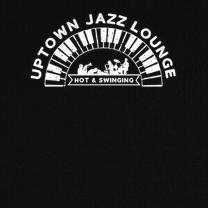 Uptown Jazz Lounge Vintage Style T-shirts