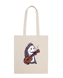 urchin rockero musicale carino disegno di gr