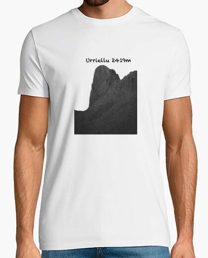 Camiseta Urriellu Hombre, manga corta, blanco, calidad extra