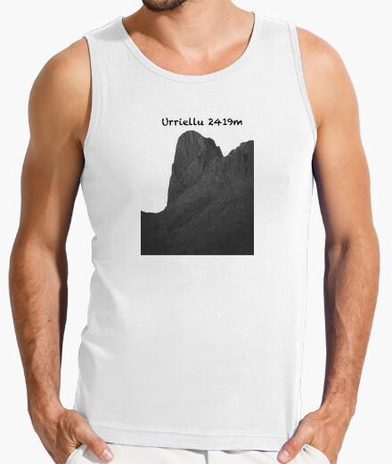 Camiseta Urriellu Hombre, sin mangas, blanca