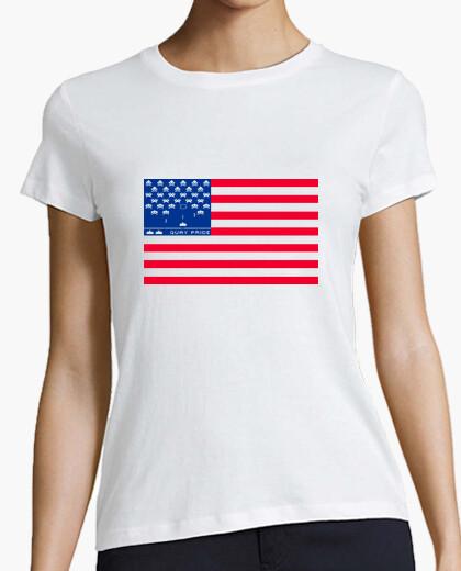 Us invaders (white shirt) t-shirt