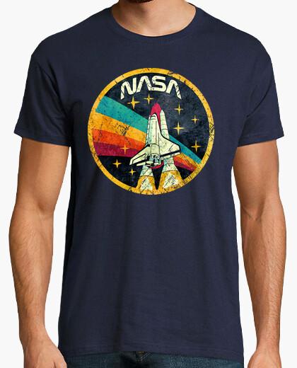 Camiseta USA Space Agency Vintage Colors V03