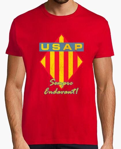 Camiseta USAP sempre endavant desgastat