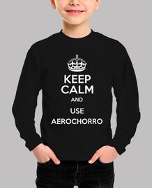 Use Aerochorro-Bebé