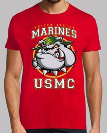 usmc bulldog shirt mod.3