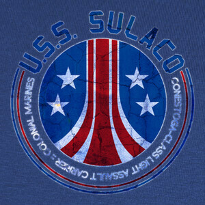 Camisetas U.S.S. Sulaco (Royal)