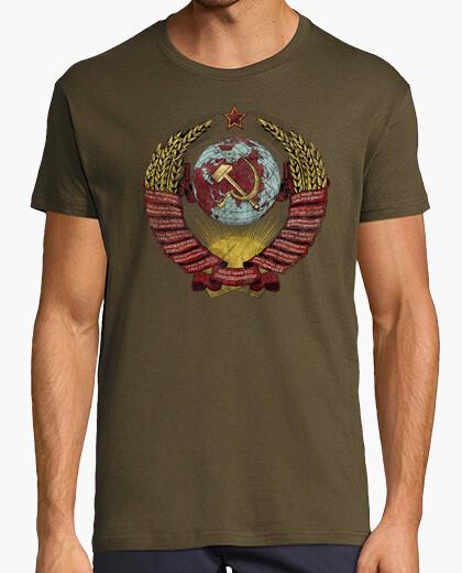 Camiseta USSR Vintage Coat of Arms V01