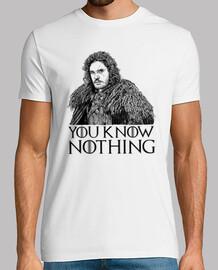 usted no sabe nada de la nieve jon
