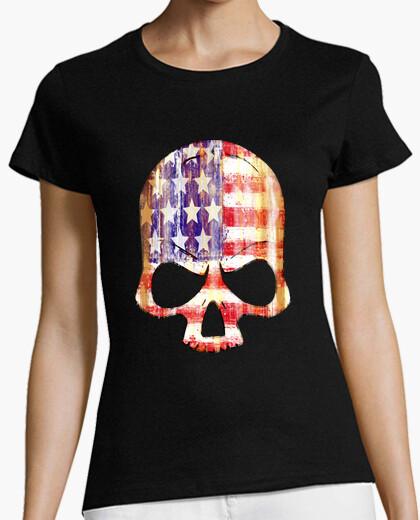 Tee-shirt utiliser un crâne