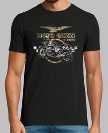 v7 guzzi coureur de moto