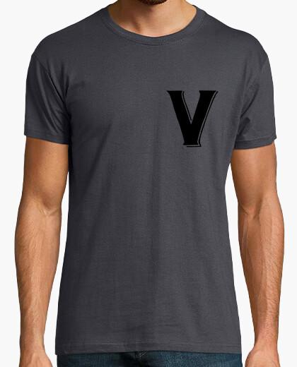 Camiseta v como vendrame
