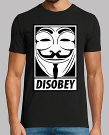 V de Vendetta, Disobey...