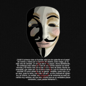 Camisetas v for vendetta