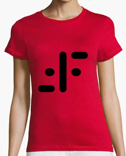 T-shirt v (nero)