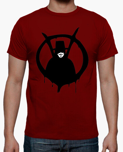V Vendetta comic Humor TV cine camisetas friki