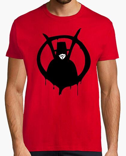 V Vendetta comic Humor TV cine camisetas friki