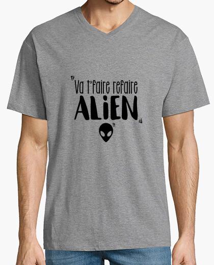 Tee-shirt Va t'faire refaire Alien