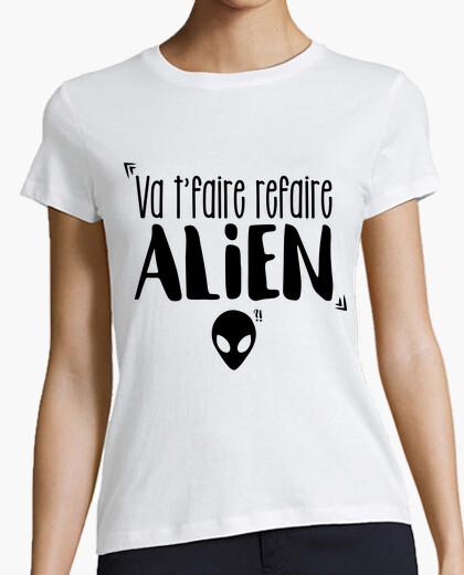 Camiseta Va t'faire refaire Alien