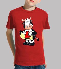 Vaca personalizada niños
