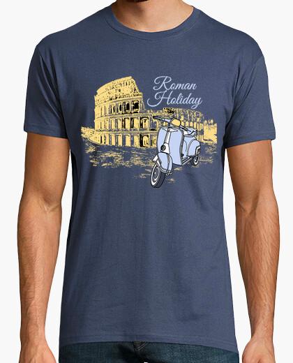 Tee-shirt vacances romaines