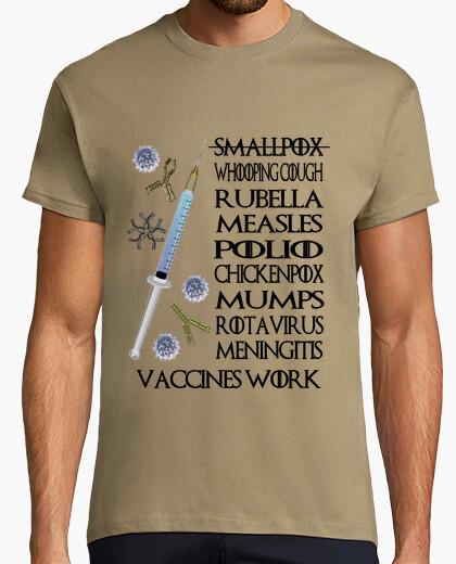 Tee-shirt vaccins work clair hmc