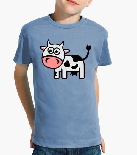 Vêtements enfant vache comique mignon